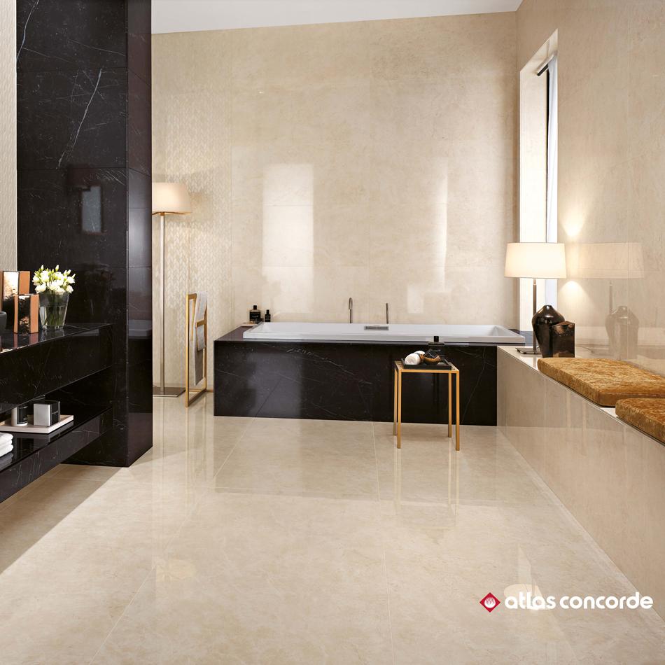 carrelage beige marvelstone cream astro habitat. Black Bedroom Furniture Sets. Home Design Ideas