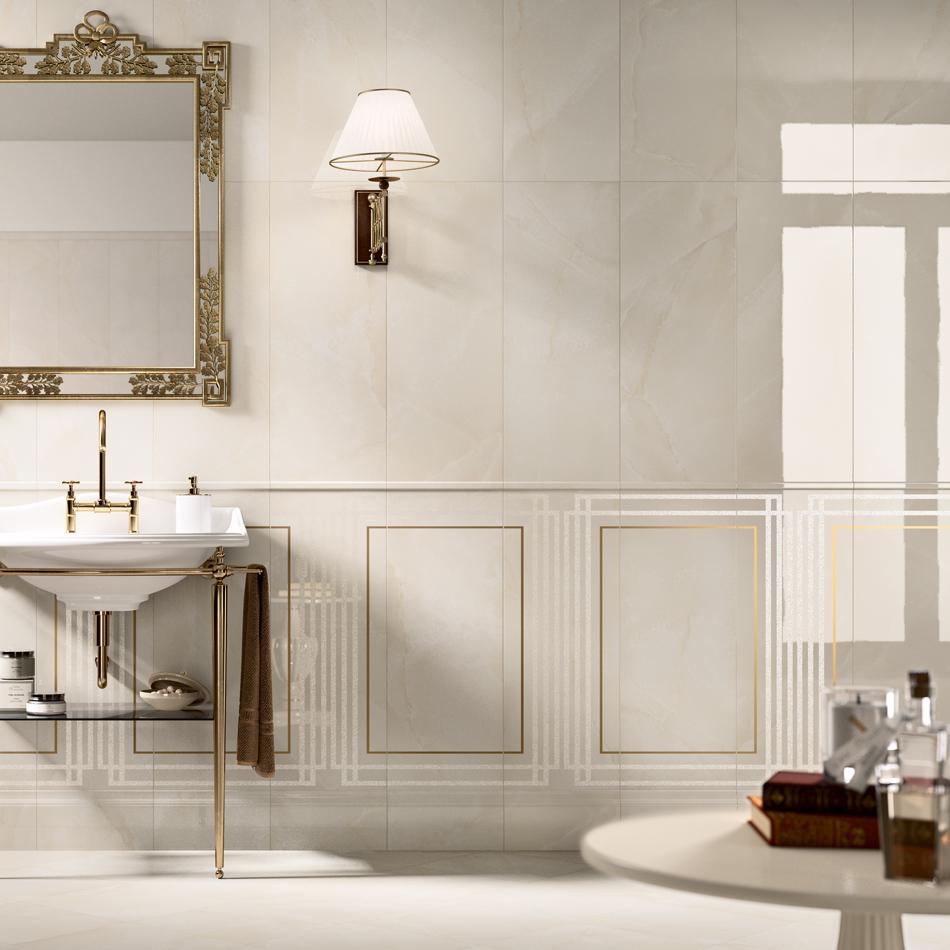 Carrelage marbre beige grace alabastro astro habitat - Carrelage marbre beige ...