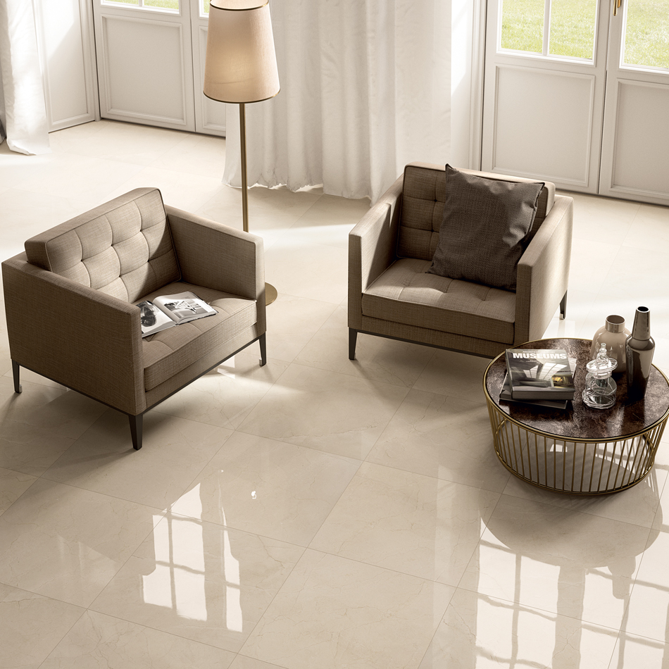 Carrelage marbre beige grace marfil astro habitat for Marbre carrelage