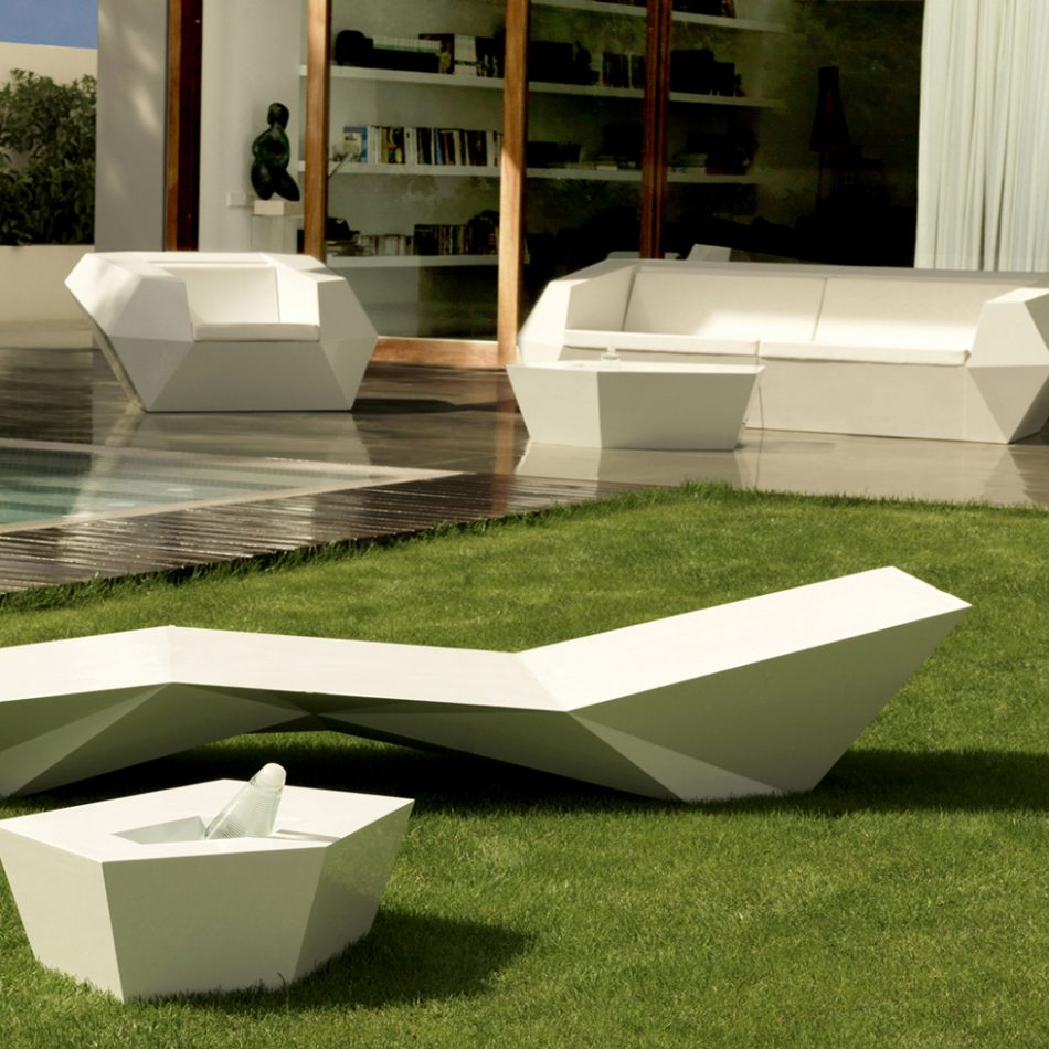 chaise longue faz astro habitat. Black Bedroom Furniture Sets. Home Design Ideas