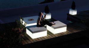 Salon de jardin lumineux Vondom Vela