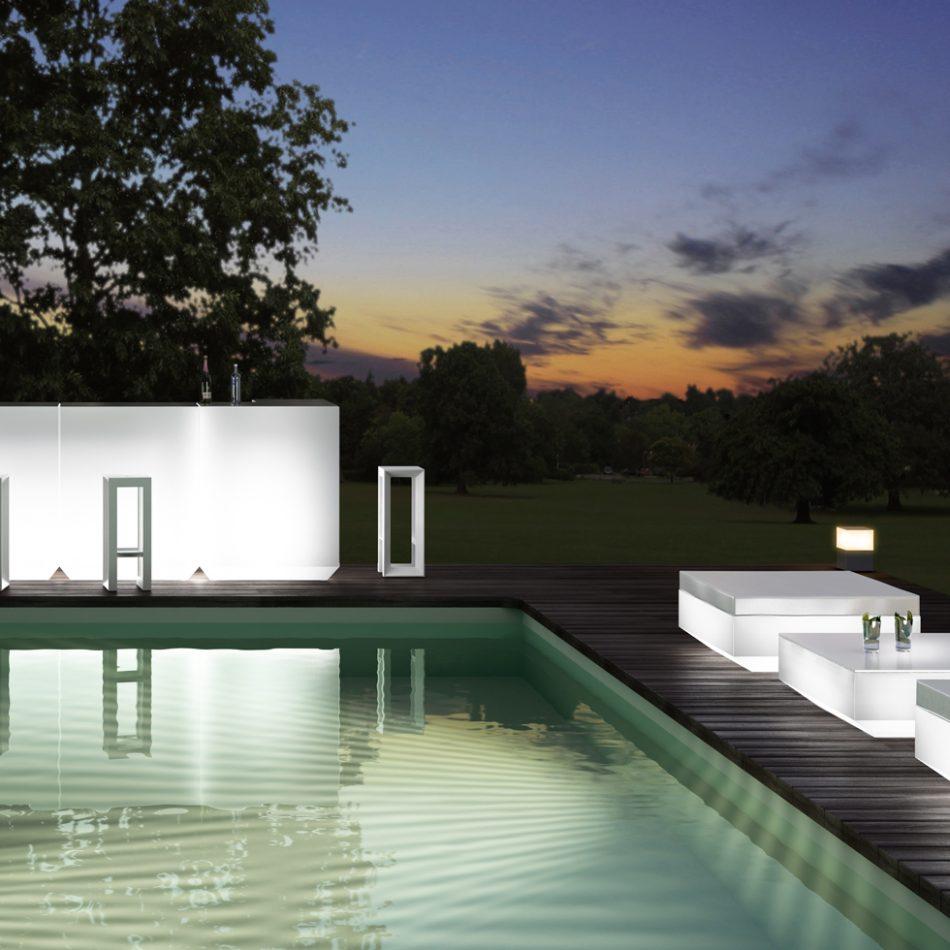 Salon de jardin vela astro habitat for Salon jardin habitat