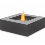 Cheminée bioéthanol Ecosmart Fire BASE graphite