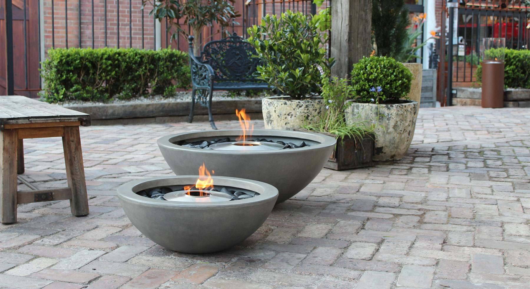 Cheminée bioéthanol Ecosmart Fire MIX